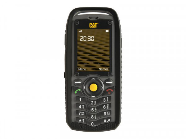 CAT B25 Dual SIM black-grey - microSDHC slot - GSM