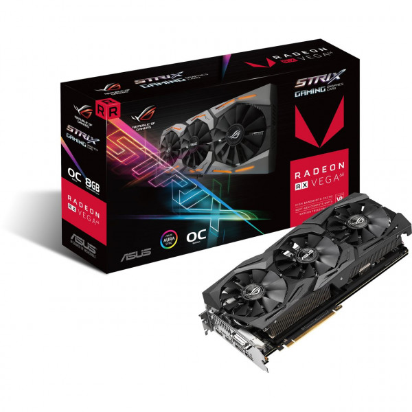 ASUS ROG-STRIX-RXVEGA64-O8G-GAMING - OC Edition