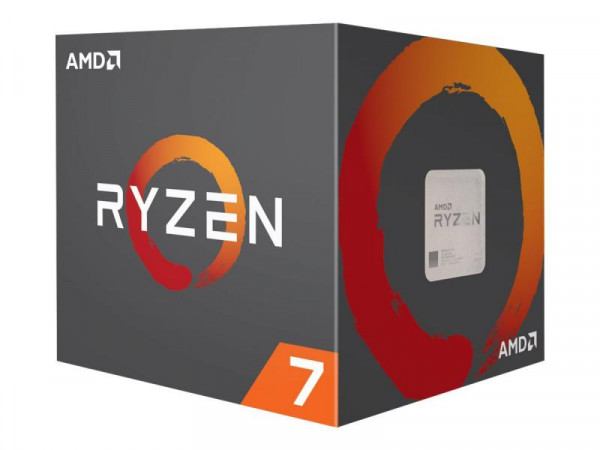 AMD Ryzen 7 2700X AM4 16MB Cache 3,7GHz boxed