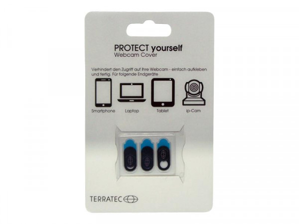 TERRATEC Protect yourself (3er Pack) Webcamcover