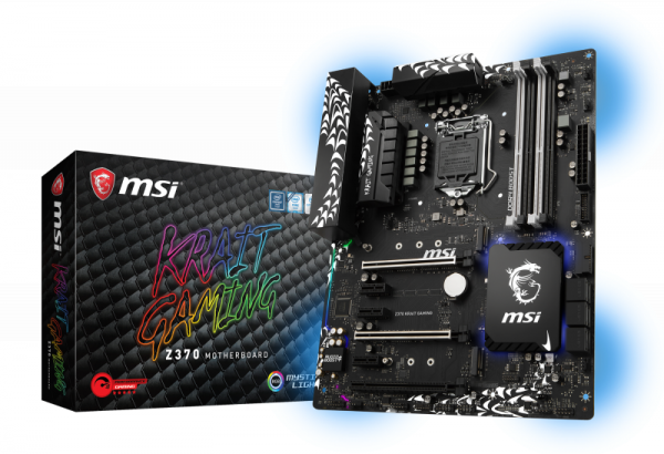 Mainboard MSI Z370 KRAIT GAMING Z370 1151 Gaming MB